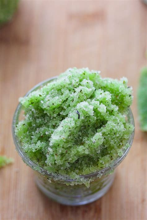 Thankscrub Greentea green tea sugar scrub