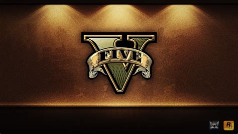 Grand Teft Auto V Logo by Grand Theft Auto 5 Wallpapers Driverlayer Search Engine