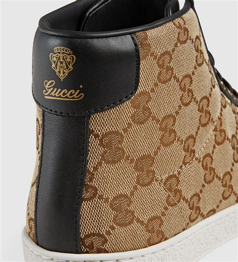 Gucci Top Ori Arken lyst gucci original gg canvas high top sneaker in