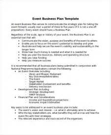events company business plan template 13 business plans free sle exle format free