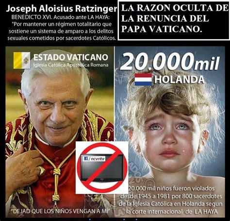 imagenes satanicas ocultas en el vaticano centinela la razon oculta de la renuncia del papa vaticano