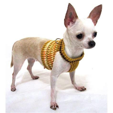 small harness vest harness vest crochet clothing small leash pets harnesses cust