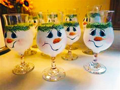 decorare bicchieri di vetro decorare i bicchieri di vetro per natale pianeta delle idee