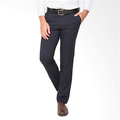 Celana Formal Pria Keren jual traffic slim celana panjang formal pria navy harga kualitas terjamin blibli