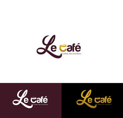 design logo resto galeri kontes untuk design logo restaurant quot le caf 233 quot cof