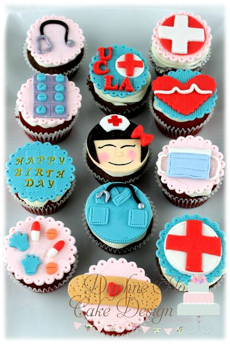 Nursing Cupcake Decorations by 30 Clever Cupcakes Cupcakes Gallery
