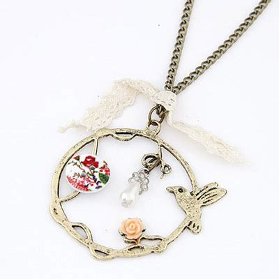Gt234 Gelang Korea Chain Birds 2011 muticolor bird decorated shape pendant design alloy chains asujewelry
