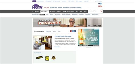 Hgtv Remodels Sweepstakes - hgtvremodels sweepstakes autos post