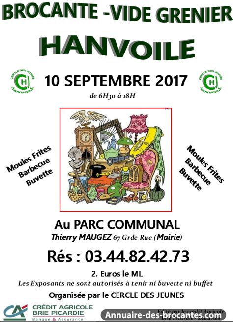 Brocantes Oise 60 by Brocante Vide Grenier 224 Hanvoile Le 10 09 2017 60650