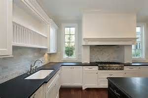 Black Countertop Kitchen 36 Quot Brand New Quot All White Kitchen Layouts Designs Photos