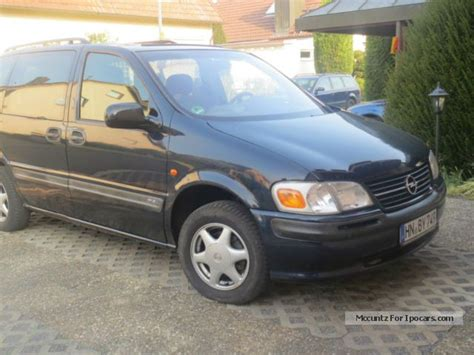 opel sintra 1999 1999 opel sintra 2 2 16v gls lpg ahk car photo and specs