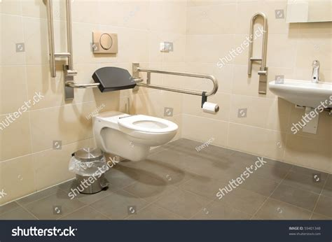 bathroom use control bdsm public restroom for disabled people stock photo 59401348