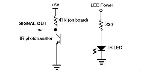 ir led wiring circuit diagram get free image about