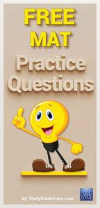 Mat Test Questions by Mat Study Guide Free Miller Analogies Practice Test
