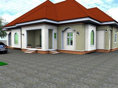 4 bedroom bungalow plans photos and video 4 bedroom bungalow house design in nigeria best 2017