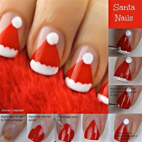 xmas nail art tutorial christmas nail art tutorial simple craft ideas