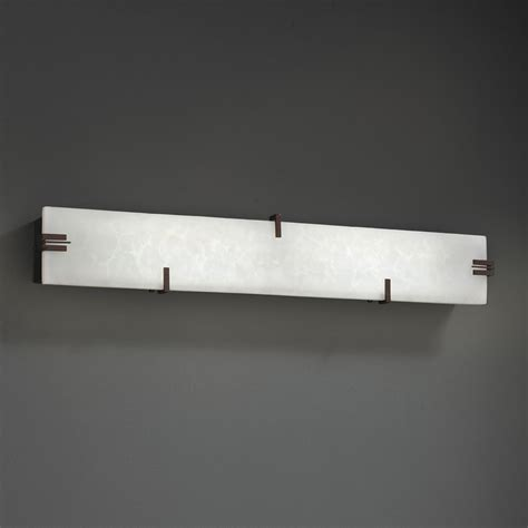 justice design cld 8880 clouds modern led bathroom sconce