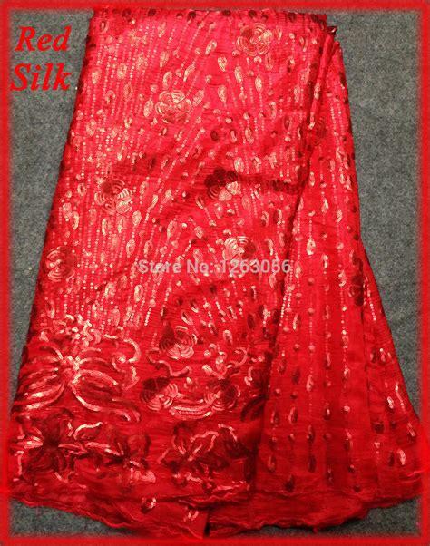 2014 scarlet lace applique print silk fabric korean silk velvet guipure lace fabric for lace