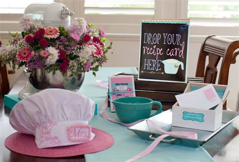 cooking themed bridal shower decorations cooking themed bridal shower bridal shower ideas themes
