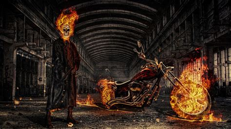 Kaos Ghost Rider 05 ghost rider fond d 233 cran