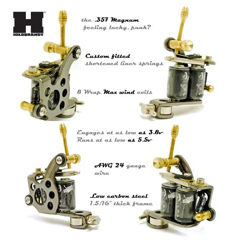 liner tattoo machine hildbrandt supply 357 magnum machine gun liner