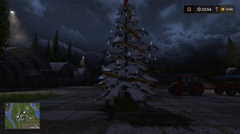 placeable christmas tree v1 1 ls 17 farming simulator