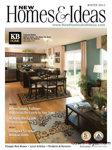 new homes and ideas magazine new homes and ideas winter 2011 187 download pdf magazines