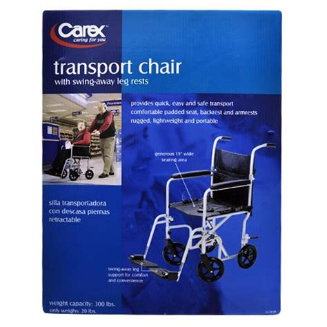 Carex Transport Chair by Carex Transport Chair Union Pharmacy Miami