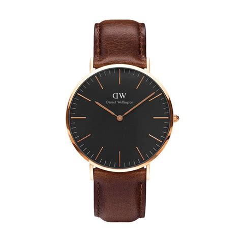 Jam Tangan Unisex Daniel Wellington Dapper Black jual daniel wellington classic bristol jam tangan pria