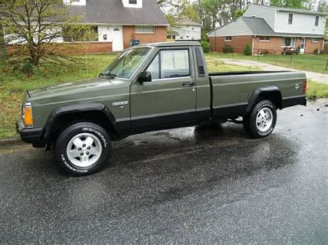 jeep comanche 4x4 purchase used 1986 jeep comanche mj 4x4 v6 5 spd