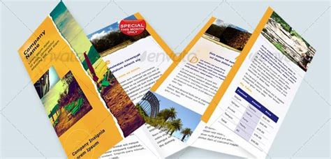 50 Business Brochure Templates Template Idesignow 6 Page Brochure Template
