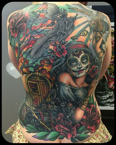 jack browns tattoo kenny brown brown s revival