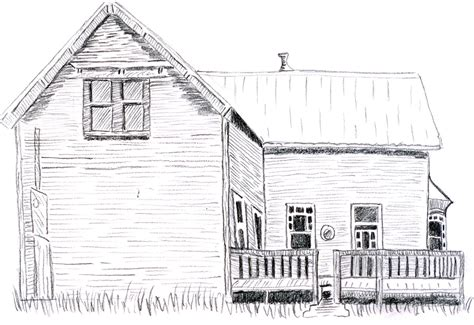 houses drawings old house learning to draw