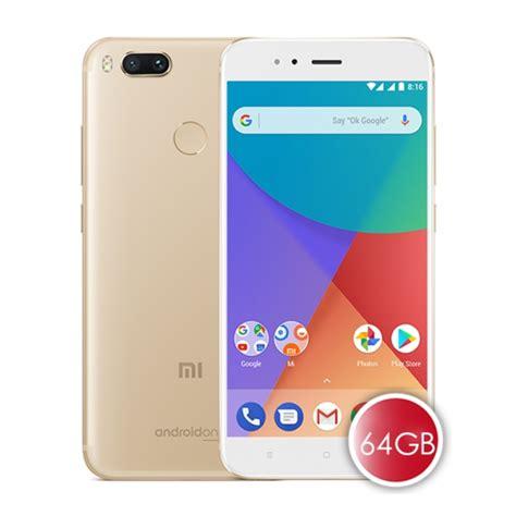 Mi A1 Xiaomi Gold Pake Bonus xiaomi mi a1 official global version 64gb rom 4gb ram gold