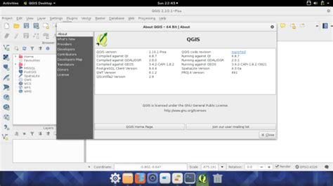 qgis linux tutorial how to install quantum gis on fedora 23 tutorial and