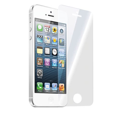 Tempered Glass Iphone 5 Jogja vida it vglass screen protector for apple iphone 5 5s 5c