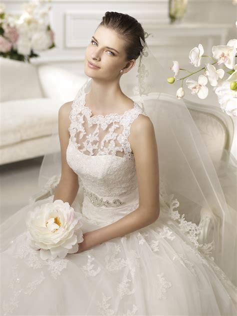 White Elegan simple white wedding dresses 2013 fashion trends styles for 2014