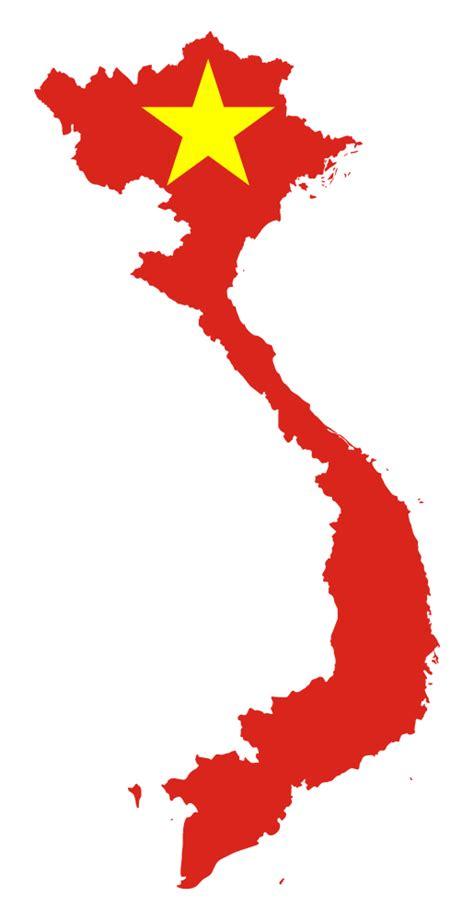 onlinelabels clip art vietnam map flag