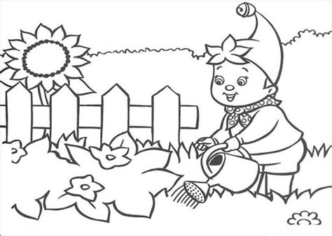 summer garden coloring page best free summer coloring pages
