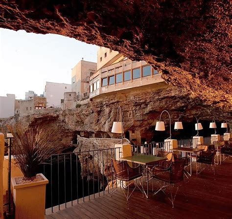 grotta palazzese hotel grotta palazzese a cozy restaurant inside a cave