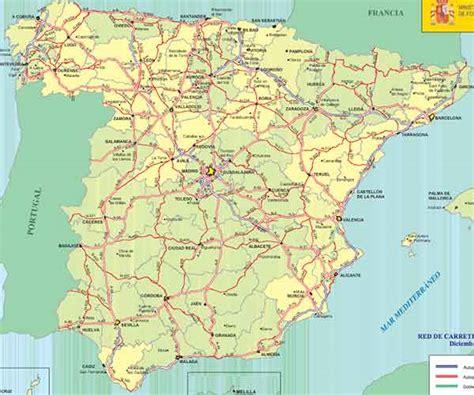 mapa de carreteras de 8499358500 mapa carreteras espa 241 a