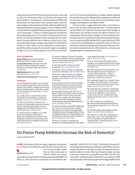 What Do Proton Inhibitors Do by Do Proton Inhibitors Increase The Risk Of Dementia