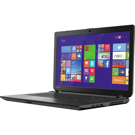 Notebook Murah Toshiba L15 B1330 toshiba 15 6 quot satellite c55 series notebook pscmlu 02801m
