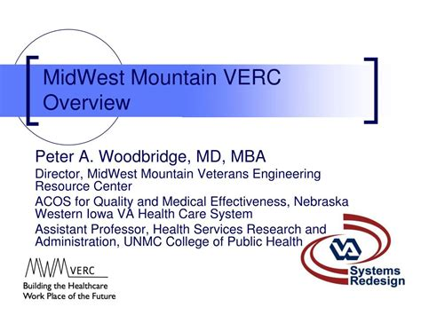 A Woodbridge Md Mba ppt midwest mountain verc overview powerpoint