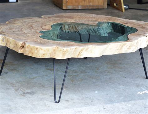 river coffee table burled river coffee table by greg klassen 187 gadget flow