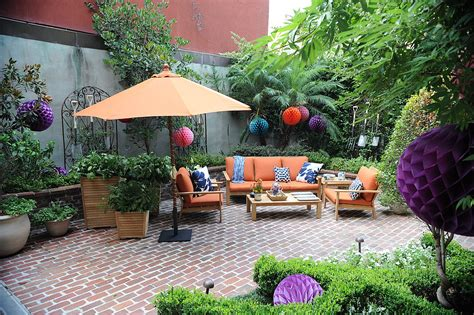 courtyard ideas courtyard decorating ideas and smith hawken for target popsugar home