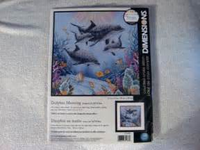 Counted Cross Stitch Kits - dimensions counted cross stitch kit dolphin morning 163 30