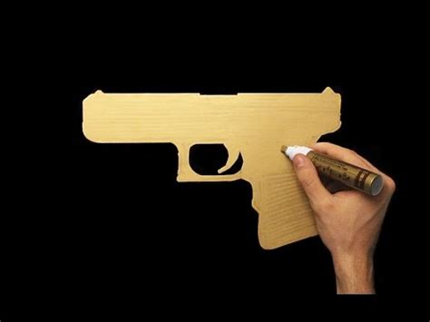 How To Draw A Glock 18