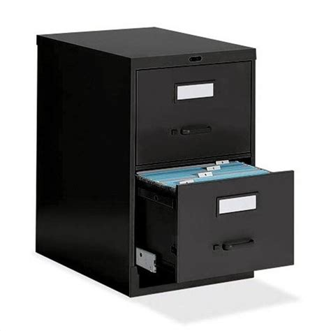 """Global Office 25"""" Legal Size Low Profile 2 Drawer Vertical"""