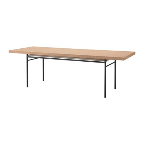 ikea kitchen tables sinnerlig dining table cork 236x85 cm ikea